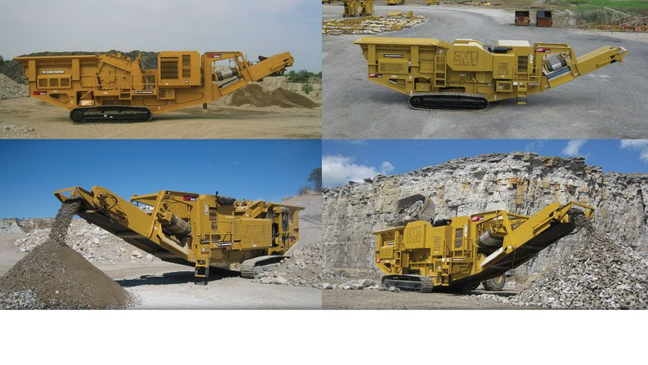 The Screen Machine Crushing Division manufacturers of quality portable impactor and Jaw Crushers on tracks.