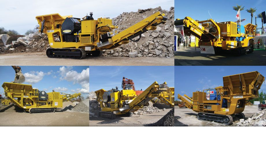 OMTRACK Manufacturer of quality portable crushers on tracks.