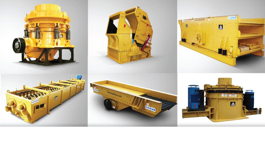 TRIO PRODUCTS. Manufacturers of quality stationary equipment such as crushers, screens, wash plants, feeders, washers, material handling equipment etc.